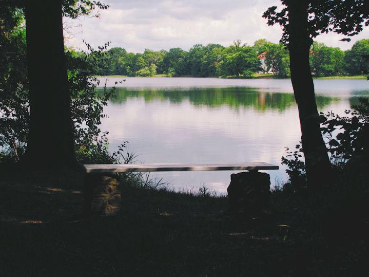 Die Bank am See